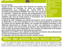 La newsletter de décembre 2020 du RITA Animal